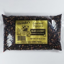Gourmet Black Popcorn 1 Pound Bag