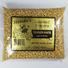 Tender White Popcorn 2 Pound Bag