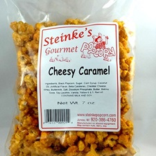 Cheesy Caramel Corn