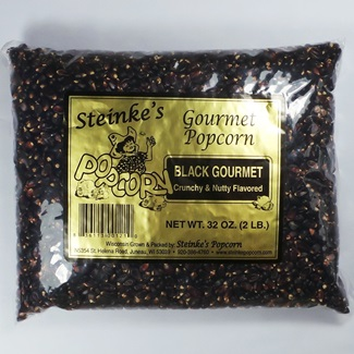 Gourmet Black Popcorn 2 Pound Bag